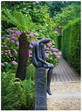 sculpture design de jardin