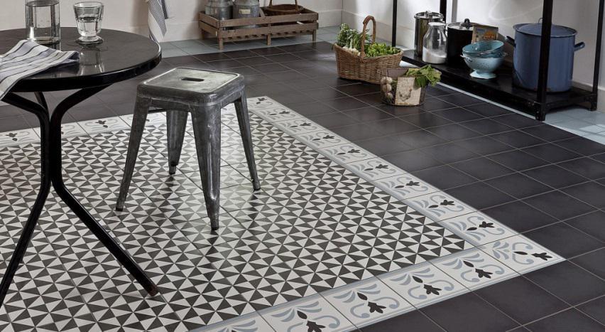 Les plus beaux sols en carreaux ciment for Coller carrelage avec ciment